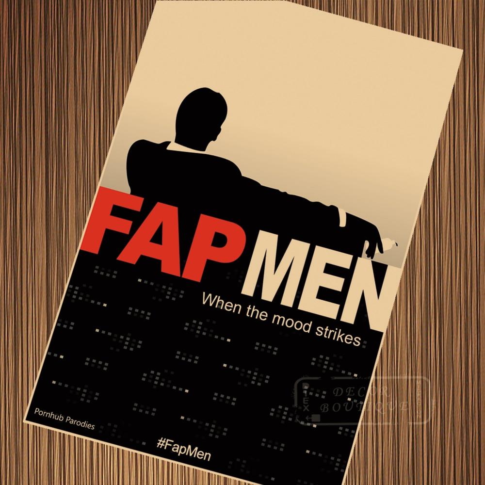 6 Kinds Movie Film Mad Men Poster Vintage Retro Canvas Painting DIY ...