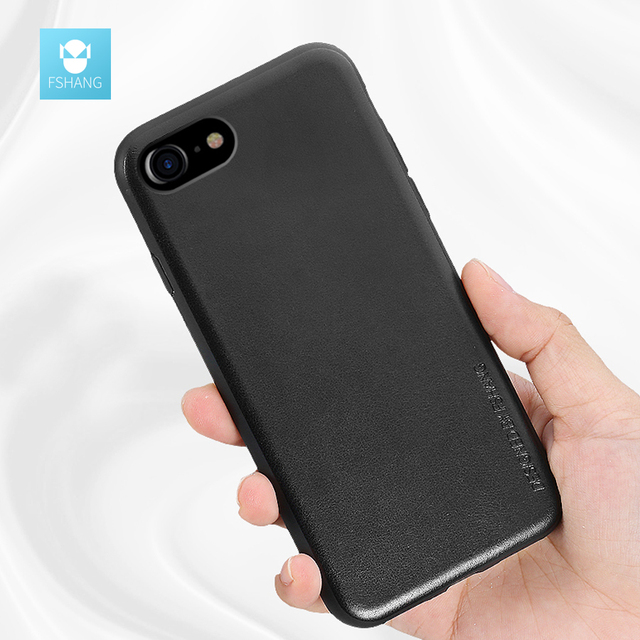 official photos a65e8 f9a23 US $7.08 |FSHANG Jazze Phone Cases for iphone 7 Soft Silicone Edge Case for  iphone 7 plus Shell luxury Covers accessories Cover Capa coque-in Fitted ...