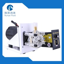 220V Power Supply Manual Peristaltic Dosing Pump Fluid Oil Transfer High Flow Adjustable