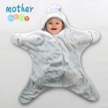 Стиль; Детские спальные мешки со звездами; спальный мешок для малышей; конверт для новорожденных; спальный мешок для детей; пеленка для младенцев