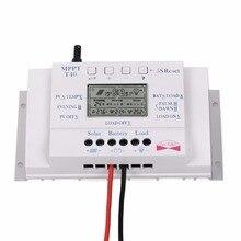 Горячие Продажи Солнечных ЖК-Дисплей 40A 500 Вт/12 В 1000 Вт/24 В MPPT Контроллер Заряда Время