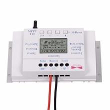 Sıcak Satış Güneş LCD Ekran 40A 500 W/12 V 1000 W/24 V MPPT Şarj Kontrolörü Zaman