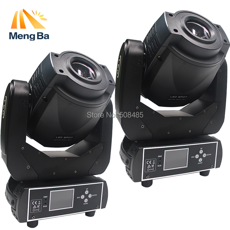 2pcs High Power 90W Gobo LED Moving Head Light 3 Face Prism DMX Controller LCD Display DJ spot light for Stage Disco club Party good group diy kit led display include p8 smd3in1 30pcs led modules 1 pcs rgb led controller 4 pcs led power supply