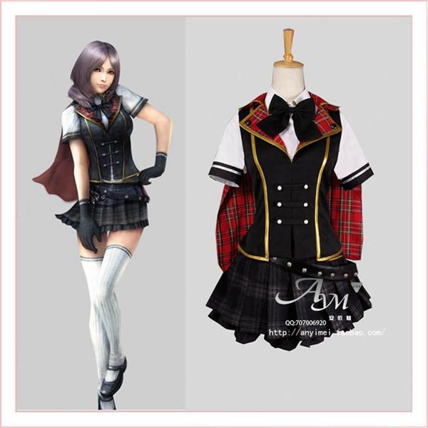 Final Fantasy Type 0 Rem Summer Dress Cosplay Costume ...