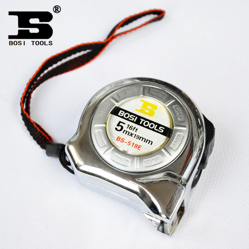 Persian hardware tools aluminum alloy shell with nylon coated steel tape scale with BS-518E Specials