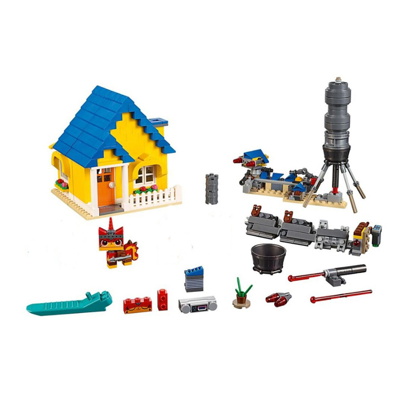 New Emmet's Dream House Rescue Rocket Compatible Legoingly Movies 2 70831 Building Blocks Bricks Toys Model Christmas DIY Gifts