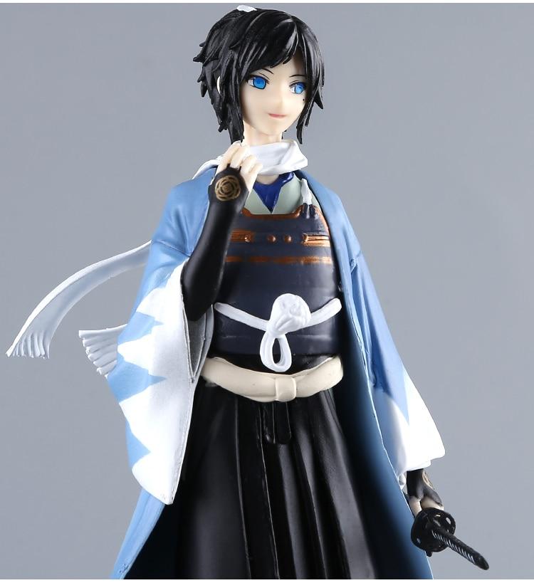 22CM Japanese anime figure Touken Ranbu Online GSC OR yamatonokami yasusada action figure collectible model toys for girls touken ranbu online tsurumaru kuninaga 1 8 complete figure figurine 22cm