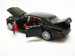 Image 3 - 1:32 Rolls Royce Phantom Extended Limousine Alloy Diecast Toy Metal Vehicle Car Model Kids Gift Collection Free Shipping