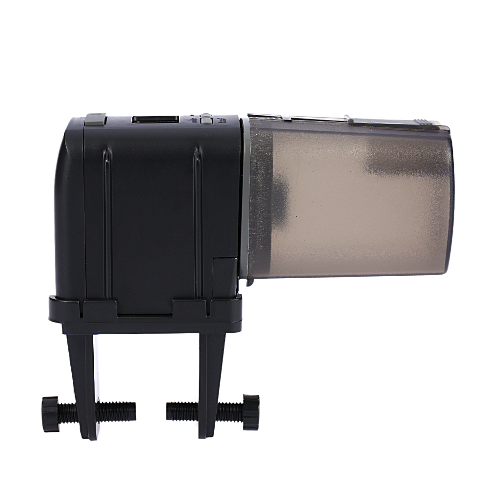 Aquarium fish tank automatic fish feeder - Lcd Automatic Fish Feeder Aquarium Fish Tank Auto Food Timer Feeding Dispenser Adjustable Outlet Accessories