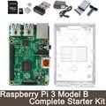 Raspberry Pi 3 Modelo B Starter Kit Completo-Raspberry Pi 3 modelo B/caja transparente/2.5A fuente de alimentación/Adaptador Wifi