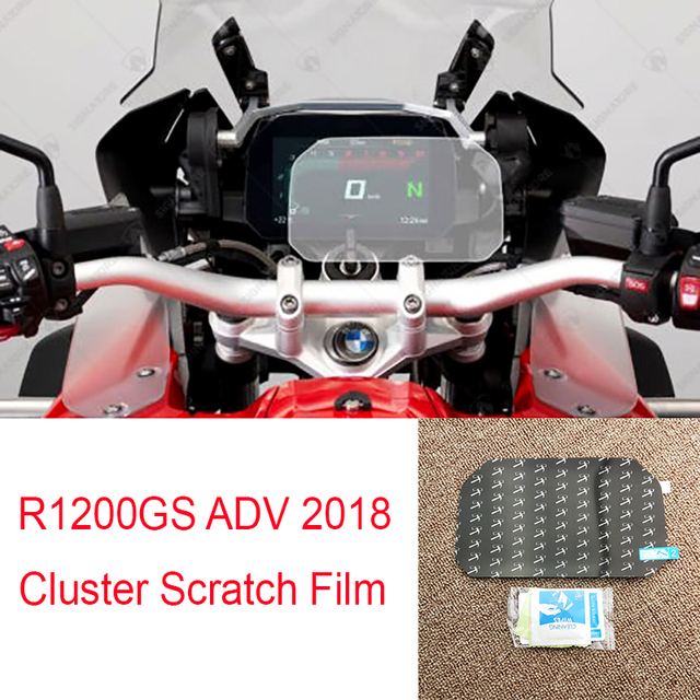 r1200gs adv 2018 cluster scratch protection speedometer film screen