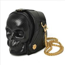 Brand Fashion Gothic Skull Retro Rock bag Women Shoulder Bags Phone Case Holder Purses and Handbags Crossbody Bag 2017