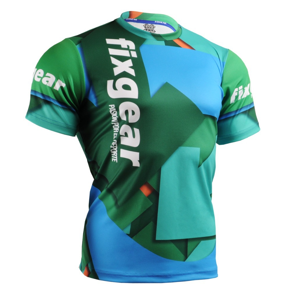 Tennis Golf T Shirts Unique Design Printing Green Contrast Color