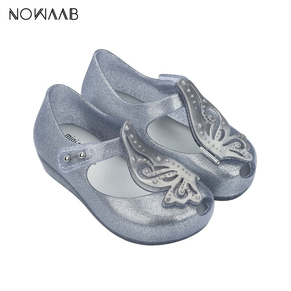 Mini Melissa Ultragirl Fly II 2019 New  Girl Jelly Sandals Breathable Children Sandals Kids Beach Shoes Original Melissa Toddler