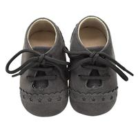 Newborn Baby Shoes Nubuck Leather Infant First Wal ...