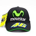 Росси VR46 Бейсболка MOTO GP Мотоцикл 3D Вышитые Гонки 46 Шляпа Мужчины Женщины Snapback Cap Спортивные Солнцезащитные Открытый Бренд шляпы