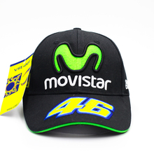 Rossi VR46 Baseball Cap MOTO GP Motorcycle 3D Embroidered Racing 46 Hat Men Women Snapback Cap Sports Sun Outdoor Brand Hats