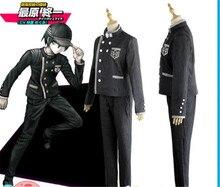 Danganronpa V3 Doden Harmonie Saihara Shuichi Super Detective Cosplay Kostuum A457