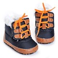 2016 meninos de inverno botas 0-18 Meses Da Criança Sapatos Sapatos de Bebê Recém-nascido polainas infantis Crianças Menino botas de neve Sola Macia Lona Sneaker Hot