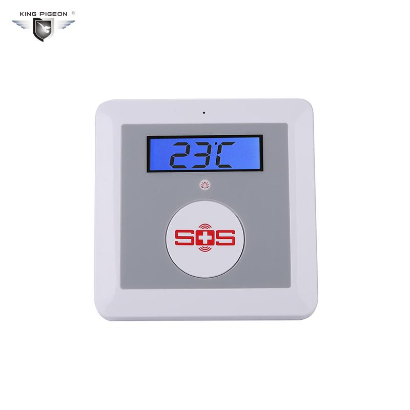K3 GSM Alarm panel SOS temperature alarm system 1