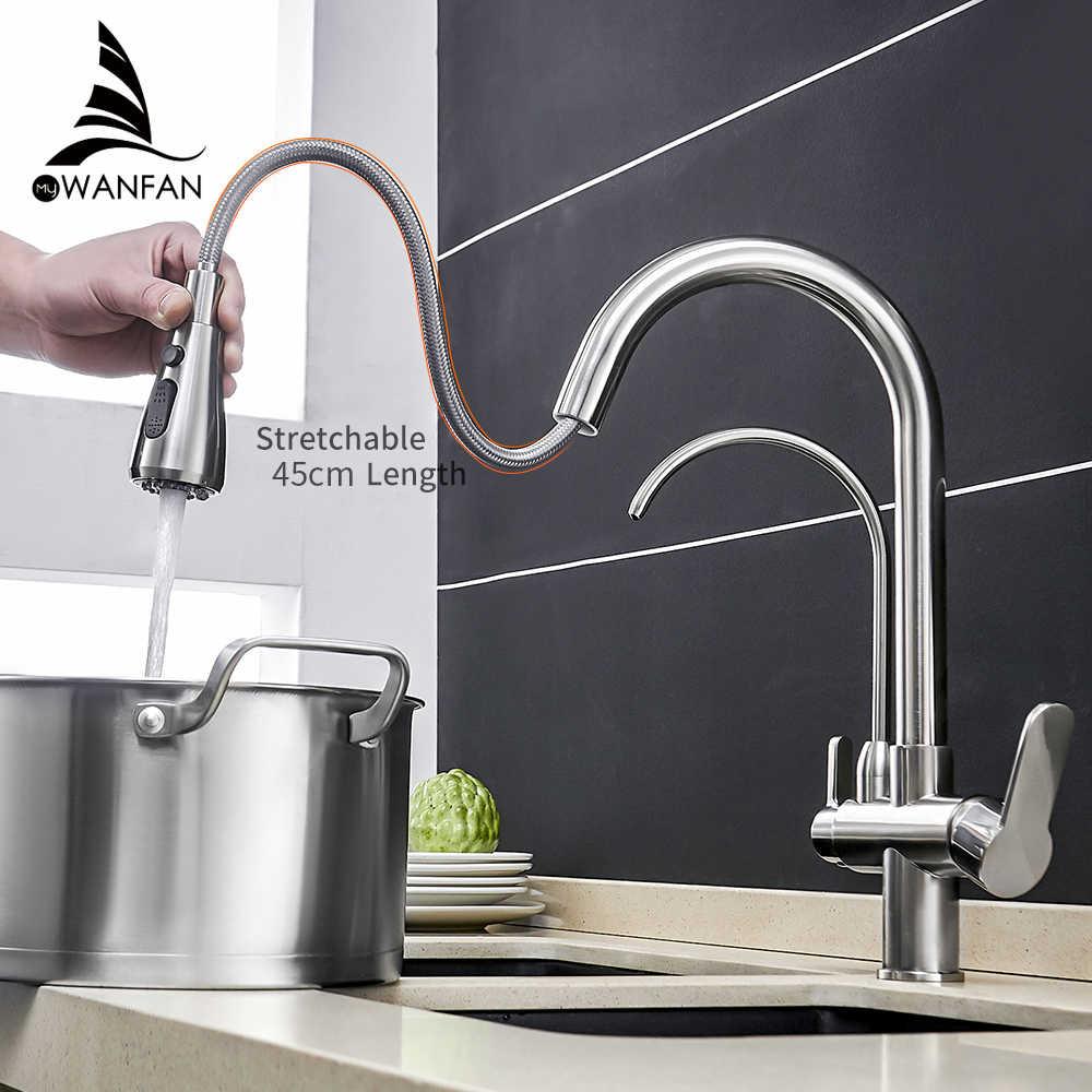 Смеситель для кухни torneira para cozinha de parede кран для кухонного фильтра для воды кран Три способа смеситель для раковины кухонный кран WF-0195