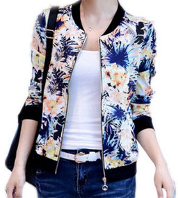 IMC font b women s b font long sleeve short spring and autumn jacket zipper jackets