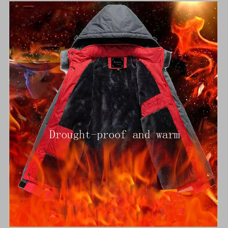 Image 5 - Unisex Winter Outdoor Intelligent USB Work Hooded Heating Jacket Coats Adjustable Temperature Control Safety Clothing DSY0010-in Safety Clothing from Security & Protection