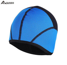 ARSUXEO Windproof Waterproof Winter Thermal Cycling Cap Fleece Caps Outdoor Running Camping Hiking Cycle Sports Hats
