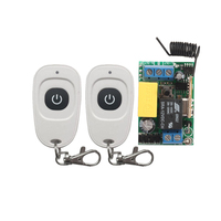 NEW High Quality AC220V RF Wireless Mini Switch Relay Receiver Remote Controllers For Light Switch