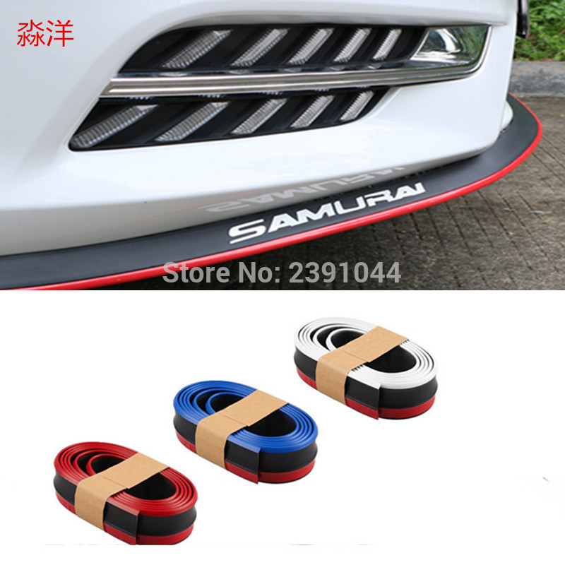 For <font><b>Mazda</b></font> <font><b>CX5</b></font> CX-5 CX 5 2013 ~ 2017 Bumper Lip / Front Spoiler Deflector Car Scratch Proof Adhesive / <font><b>Body</b></font> <font><b>Kit</b></font> / Strip Skirt image