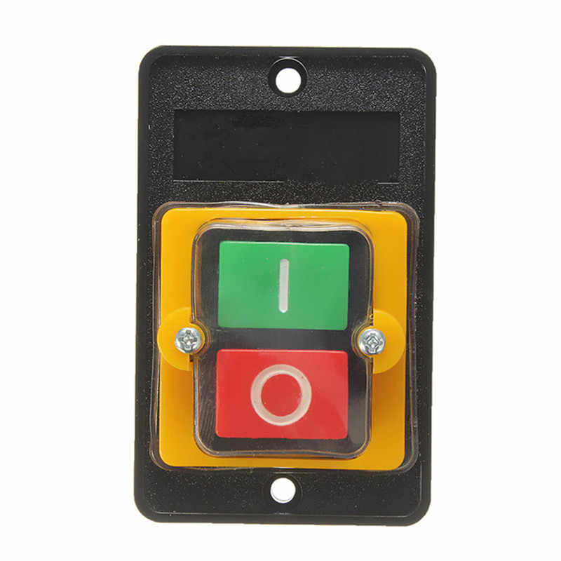 10A 380V KAO-5 WaterProof ON/OFF Push Button Machine Drill Switch Plastic Motor Hot Sale