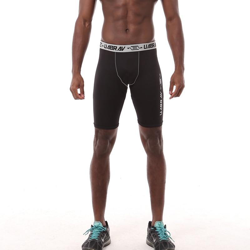 Neue Marke Männer Kompressionshose Jogginghose Bodybuilding Combat Dry Basisschicht Fitness Leggings kurze Hosen für Männer plus Größe