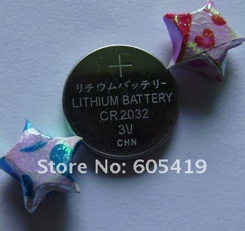 300pcs/Lot,FREE shipping,CR2032 Button Cell Battery-in