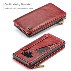 For Samsung note 9 CaseMe Leather Phone Case For iPhone 6 8 Leather Wallet Card Slots Stand Cover For iPhone X Case iPhone 7 6