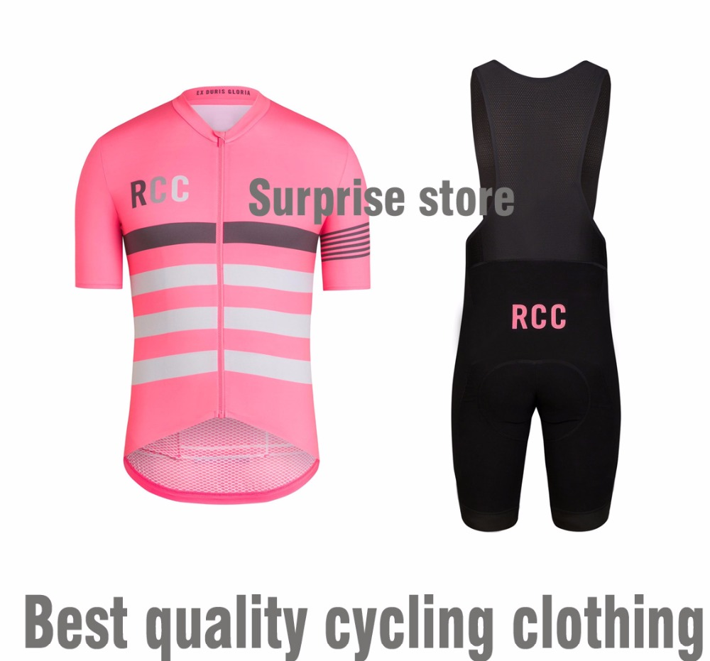 Best Quality PRO TEAM RACE Cycling CLUB Cycling Jersey and bib shorts Short sleeve Bicycle clothing race fit MTB road bike gear top quality racing cycling club pink stripe cycling jerseys pro team tight fit long sleeve cycling clothing bicycle shirt