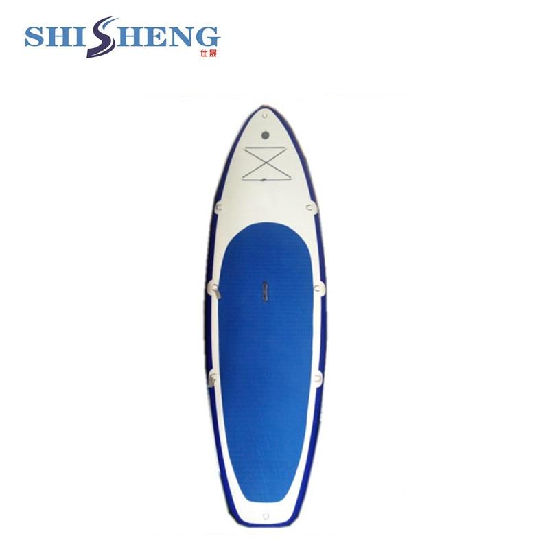 Chine wakeboard de point de chute gonflable/vente chaude tiennent le conseil de palette