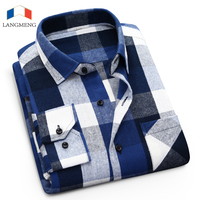 Free Shipping 2014 New Fashion Men Cotton Shirts Calssical Coloured Plaid Patterns Casual Slim Shirts Brand