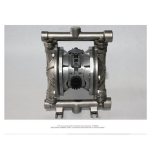 Aluminum Alloy Diaphragm Pump  Air operated Pneumatic diaphragm pump QBK-15 single way aluminum alloy pneumatic diaphragm pump 10l min flux for printing ink oil chemical liquid bml 5