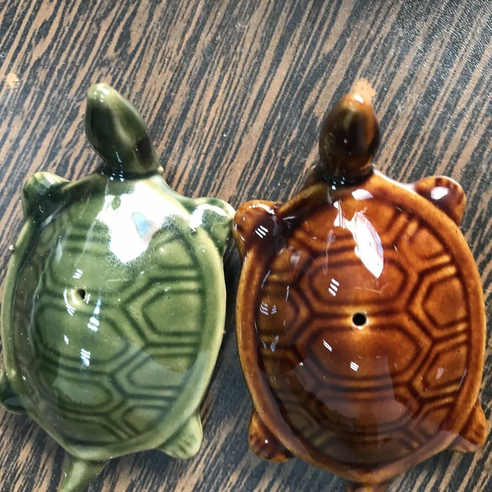 15%off,10pcs/lot,8*4.3*3.3cm,Zakka ceramic cute turtle,floating sea turtle pool fish tank garden home decorations ceramic crafts