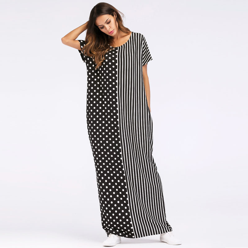 1867019 Hot Summer robe European and American kids loving new wave dresses women mujer Musulman Vestidos Mujer in Islamic Clothing from Novelty Special Use