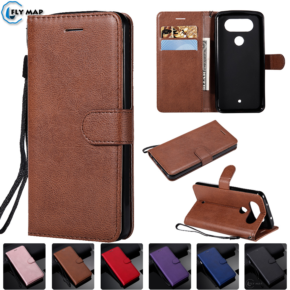 Wallet Case For LG Q8 H970 X800K X800L Flip Mobile Phone PU