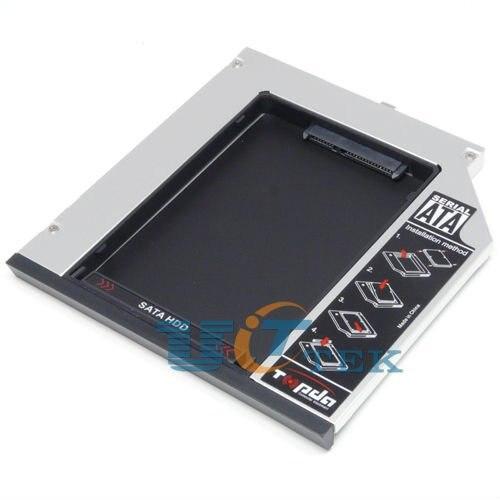 2nd SATA Hard Drive HDD Caddy Bay For Dell Inspiron 15R 17R N5010 N7010 N5110