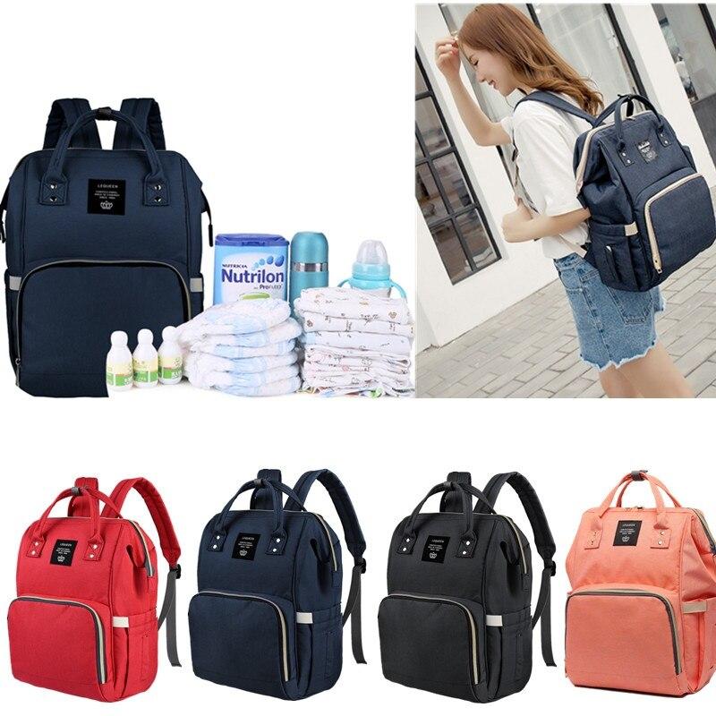 Fashion Women Backpack Large Capacity Mummy Backpacks Baby Bag Travel  Backpack Designer Nursing Bag for Baby 39e3c17a1f