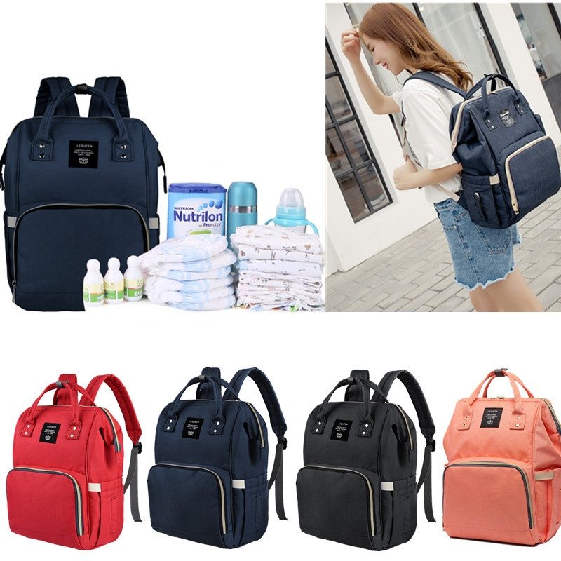 Fashion Women Backpack Large Capacity Mummy Backpacks Baby Bag Travel Backpack Designer Nursing Bag For Baby Care Backpacks