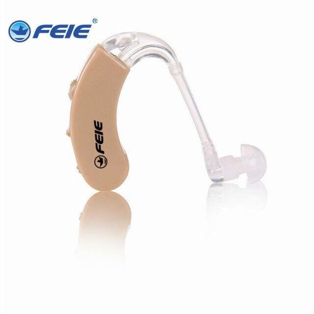 BTE Hearing Aid adjustable Sound Enhancement Hearing Aids Behind-the-Ear Ear Aids for Hearing Loss Elderly S-9C cuidados com a orelha bte hearing aids for the elderly s 9c free shipping personal sound amplifier
