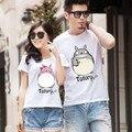 Totoro camisa de T Para Os Amantes do Casal T shirt Roupas Roupas de Desenhos Animados para Homens E Mulheres Camiseta mulheres tops para Frete Grátis brasil