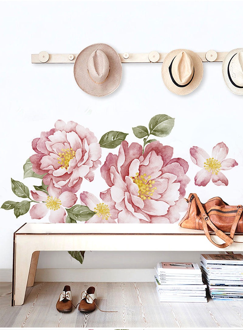 Peony Flowers Wall Sticker 20