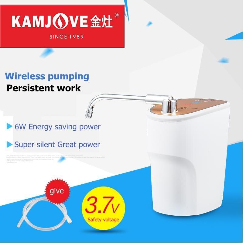 Kamjove P-05 Беспроводной литиевая батарея водяной насос бутилированной воды Насосное Диспенсер автоматический Электрический всасывания воды …