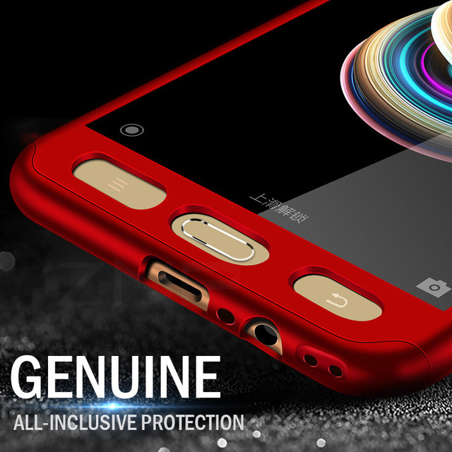 360 Degree Full Cover Cases For Samsung Galaxy J5 J7 A3 A5 A7 2017 2016 Case Hard Plastic Cover With Glass For Samsung S7 Capa 5
