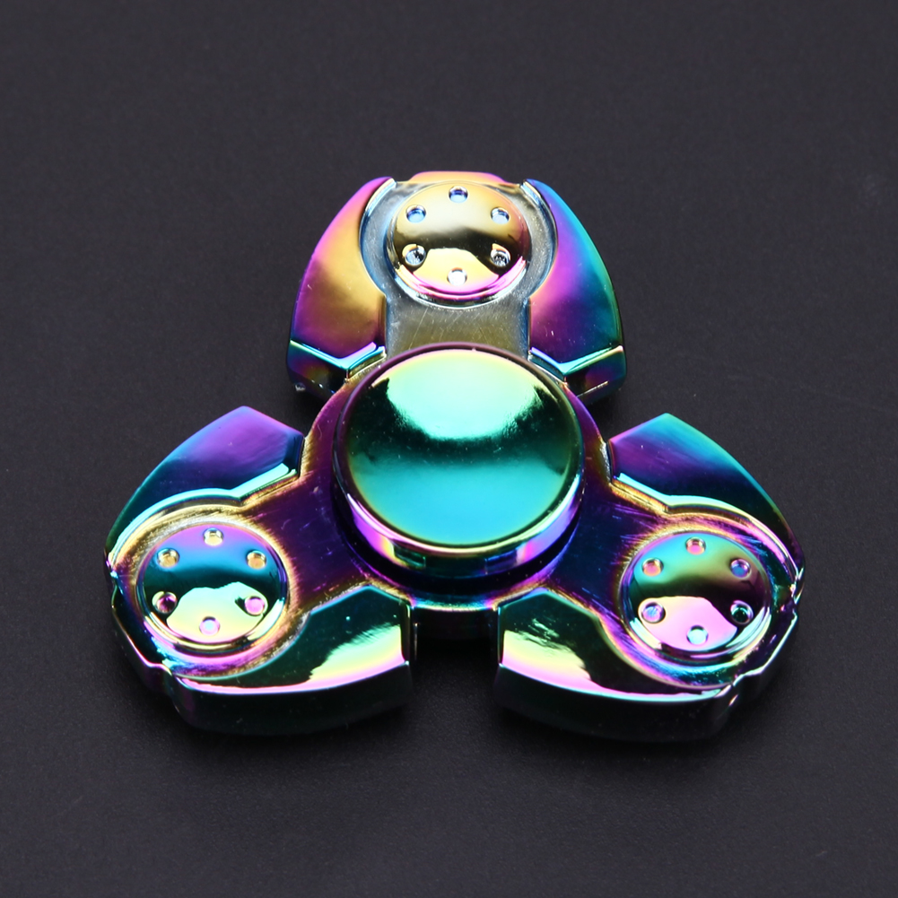 Fidget Spinner Metal Finger Spinner Focus Toy Fidget Cube Toys for Autism ADHD Anti Stress Hand